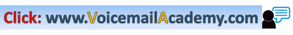 voicemail academy